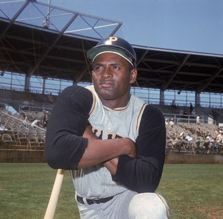 Roberto Clemente in March 1968.